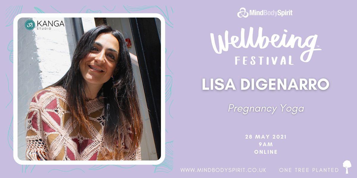 Lisa DiGenarro - Pregnancy Yoga, 28 May | Online Event | AllEvents.in