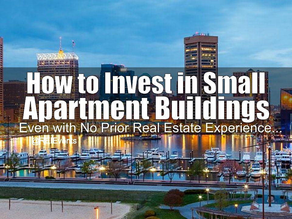 Investing on Small Apartment Buildings Birmingham AL