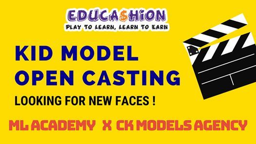 Be a Star Kid Model Open Casting (age 4-15)