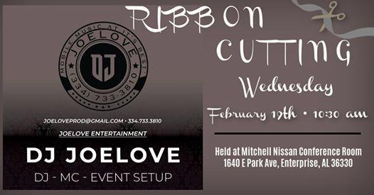 Mitchell Nissan Enterprise Al >> Ribbon Cutting For Joelove Entertainment At Mitchell Nissan