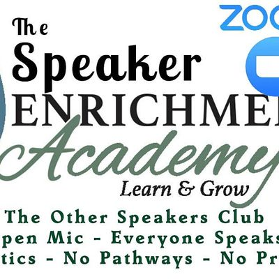 Call For Public Speakers - Open Mic Night NOW VIRTUAL ON ZOOM