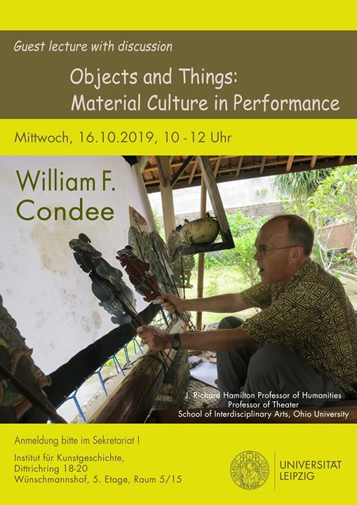 Objects and Things Material Culture in Performance