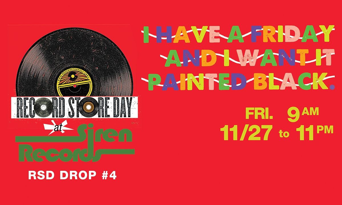 Record Store Day Drop #4 Reservations!, 27 November | Event in Doylestown | AllEvents.in