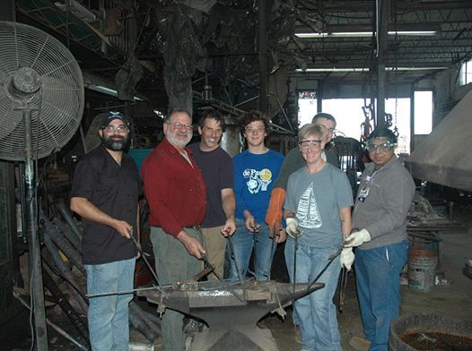 September Beginner Blacksmith Class