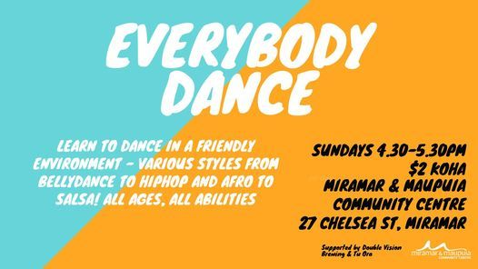 Everybody Dance Sundays, 25 April | Event in Wellington | AllEvents.in