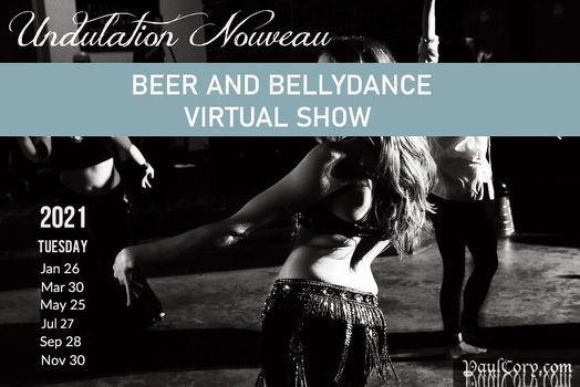 Undulation Nouveau (Beer and Bellydance), 27 January | Online Event | AllEvents.in