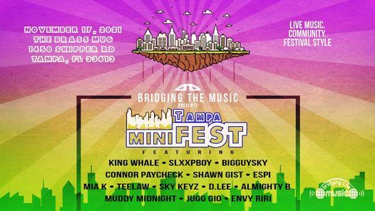 Tampa miniFEST (11/17/21), 11 November | Event in Tampa | AllEvents.in