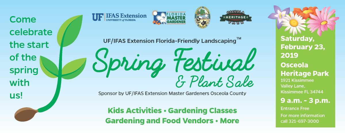 Spring 2020 Uf.Spring Garden Festival Join Us On Saturday February 29 9 00am 3 00pm