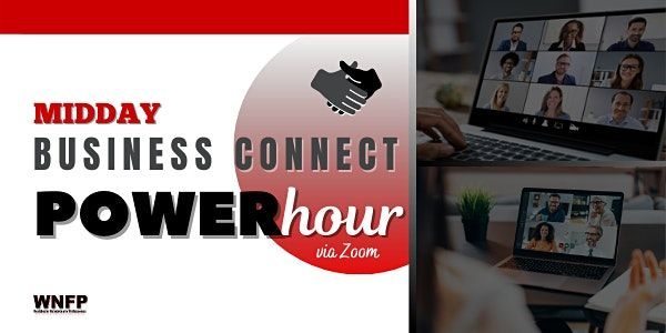 Midday Business Connect Power Hour | via Zoom | Event in New York | AllEvents.in