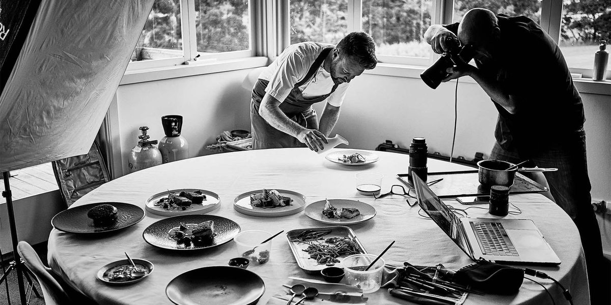 Introduction to Food Photography and Styling with David Griffen