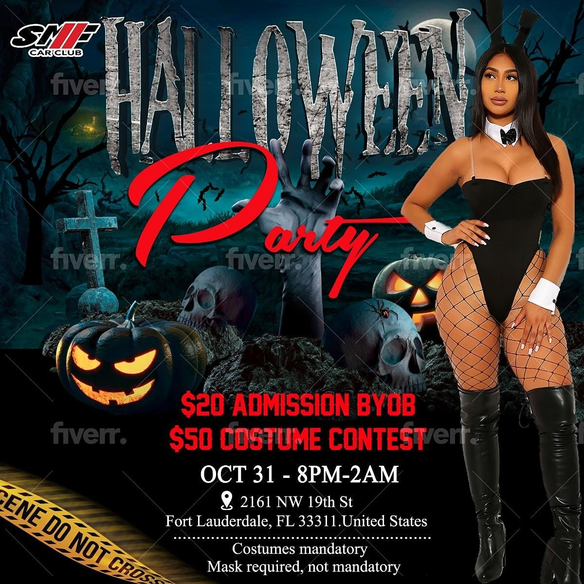 Halloween Ft Lauderdale 2020 2020 BIGGEST HALLOWEEN BASH, 2161 NW 19th St, Fort Lauderdale, 31