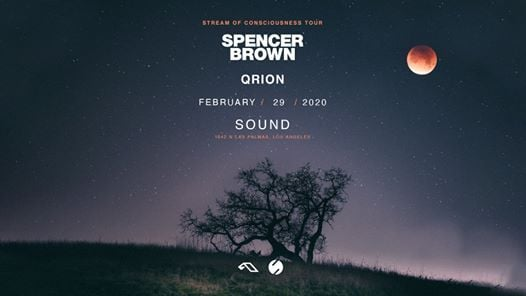 Sound presents Spencer Brown and Qrion