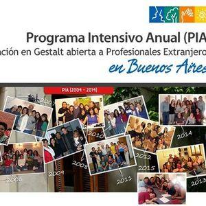Gestalt Programa Intensivo Anual para extranjeros (PIA)
