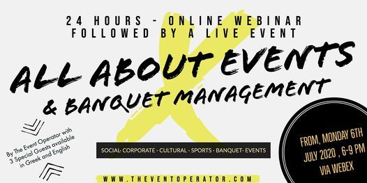 All About Events & Banquet Management