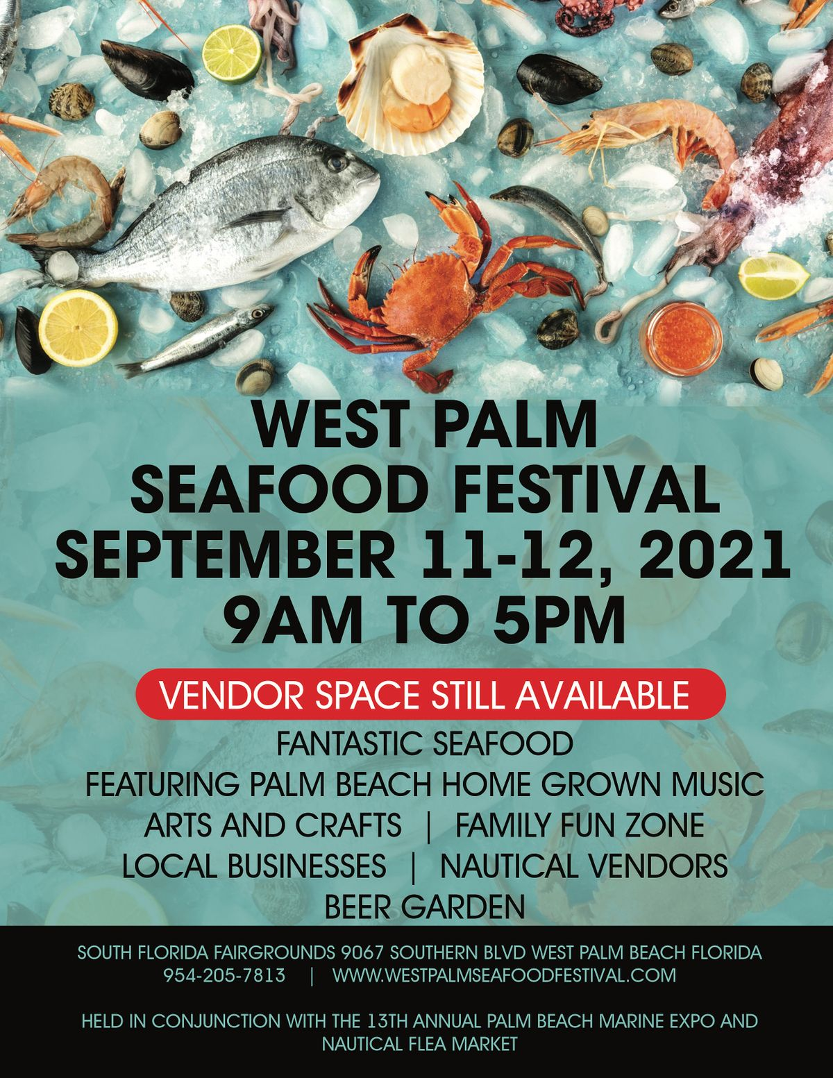 West Palm Seafood Festival, 11 September | Event in West Palm Beach | AllEvents.in