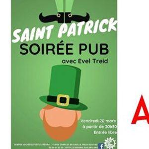 Annulation Saint Patrick  soire pub