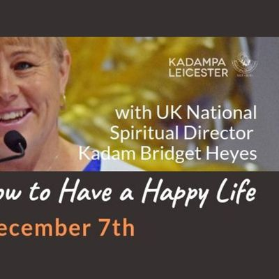 SPECIAL EVENT Be Kind to Yourself How to Have a Happy Life