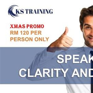 Speak with Clarity and Confident - Presentation Full Day Training [HRDF]