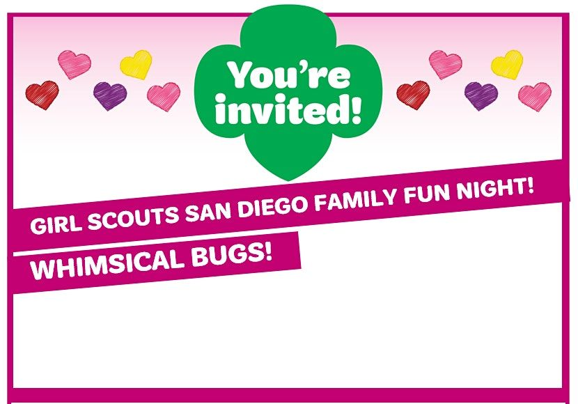 Girl Scouts Virtual Craft Night—Whimsical Bugs! | Online Event | AllEvents.in