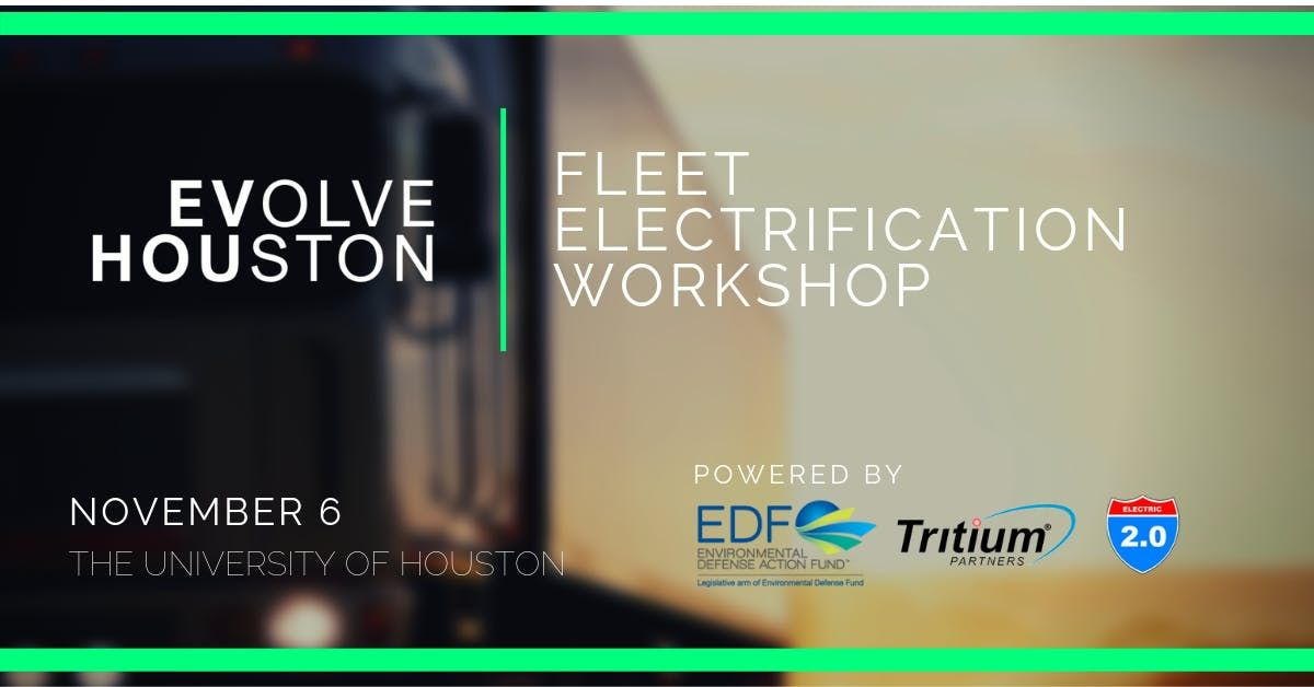 Fleet Electrification Workshop