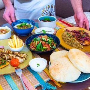 Fairuz Brunch at Kamoon restaurant