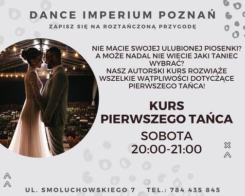 KURS PIERWSZEGO TAŃCA   Event in Poznan   AllEvents.in