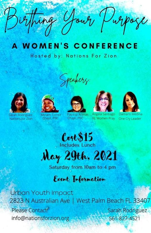 Birthing Your Purpose - A Women's Conference, 29 May | Event in West Palm Beach | AllEvents.in