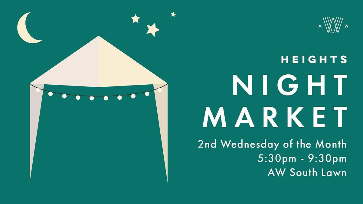 Heights Night Market Vendor Application - 2021 | Event in Tampa | AllEvents.in