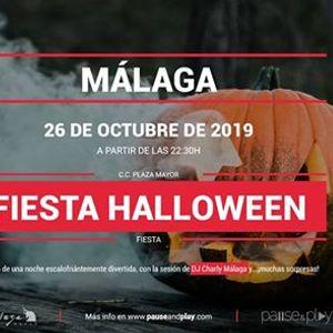 Fiesta Halloween con dj Charly Mlaga - Pause&ampPlay Plaza Mayor