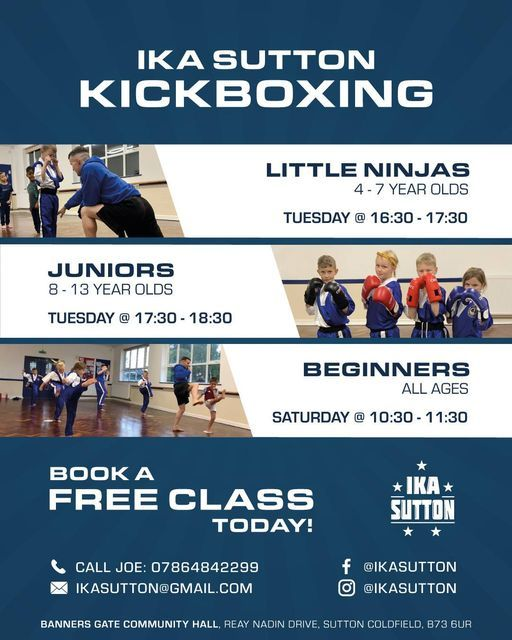 Beginners Kickboxing (Ages 4-13), 24 October | Event in Sutton | AllEvents.in
