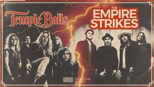 Rooster Live Temple Balls  The Empire Strikes