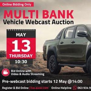 Multi Bank Vehicle Webcast Auction