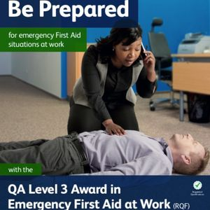 Level 3 Award in Emergency First Aid at Work
