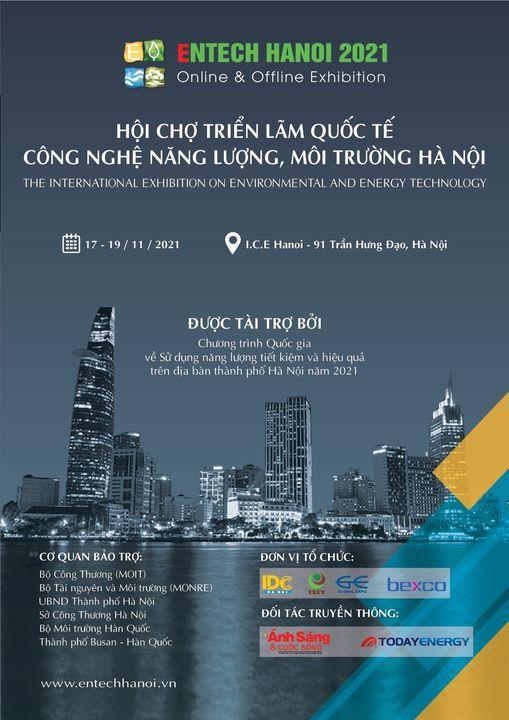 Khai mạc Entechhanoi 2021, 17 November | Event in Hanoi | AllEvents.in