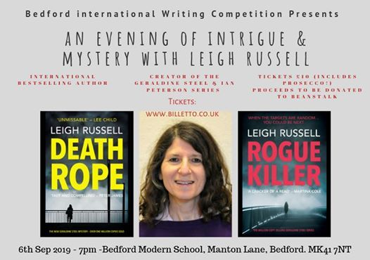 An Evening of Intrigue & Suspense with Leigh Russell
