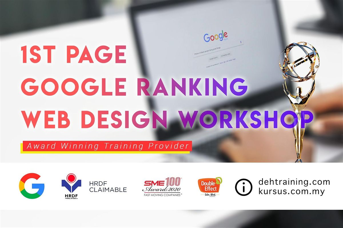 Awards Winning SEO Course  1st Page Google Ranking Web Design Workshop (Feb2020)