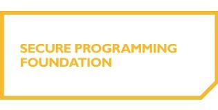 Secure Programming Foundation 2 Days Training in Colorado Springs CO