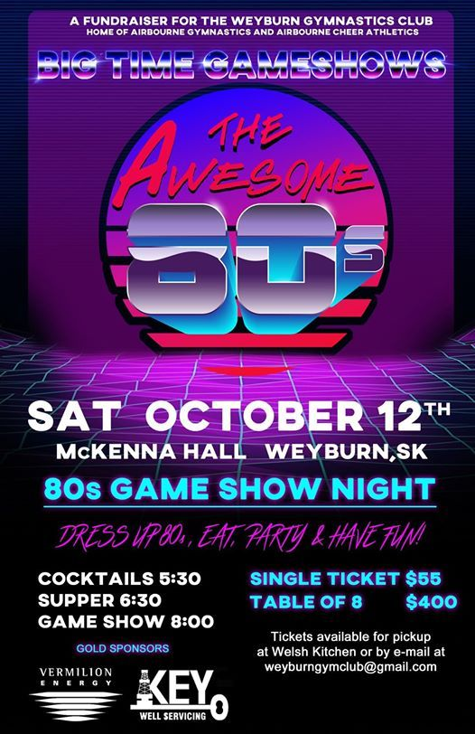 The Awesome 80s Big Time Game Show