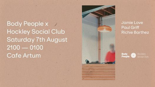 Body People x Hockley Social Club, 7 August | Event in Birmingham | AllEvents.in