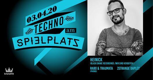 Techno am Spielplatz w Heinick ( Wir sind Verboten DE )