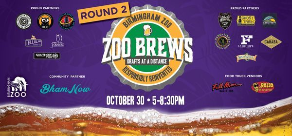 Zoo Brews: Drafts at a Distance, 30 October | Event in Birmingham | AllEvents.in