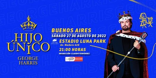 George Harris, 26 August | Event in Buenos Aires | AllEvents.in