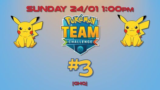 Pokemon TCGO Team Challenge Qualifier #3 - Geeks Headquarters, 24 January | Event in Chesterfield | AllEvents.in