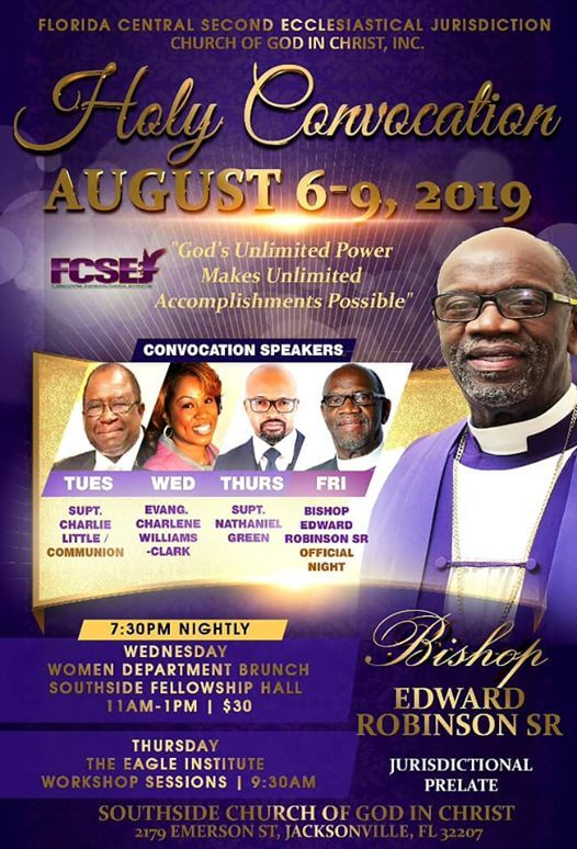 Perfecting Fellowship International Holy Convocation events in the