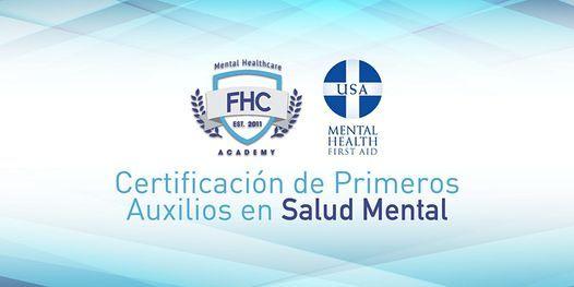 Obtén tu Certificación de Primeros Auxilios en Salud Mental, 1 October | Event in Guaynabo | AllEvents.in