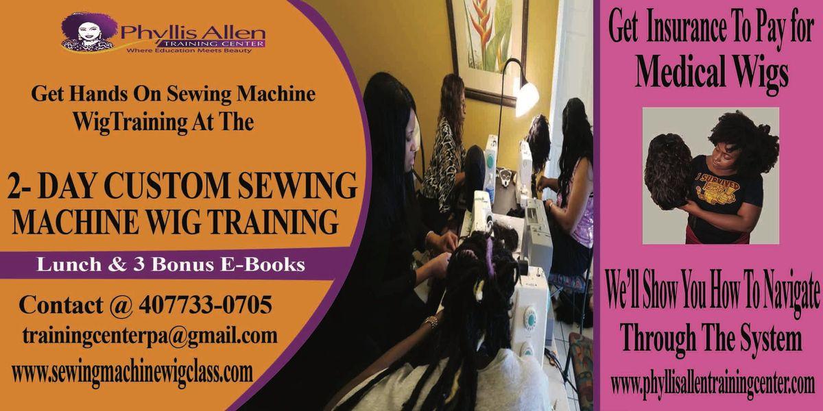 Premier Intense Sewing Machine Wig Seminar
