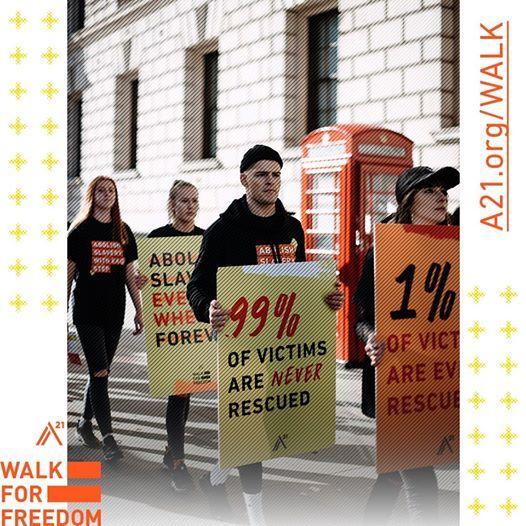 Walk for Freedom 2019