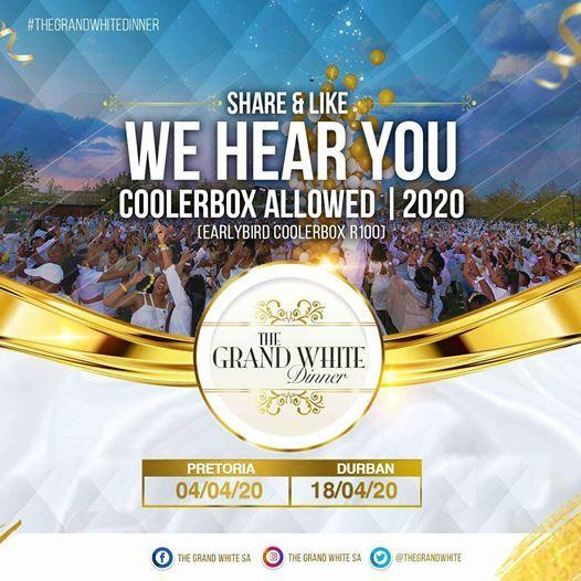 The Grand White Dinner Pretoria 2020