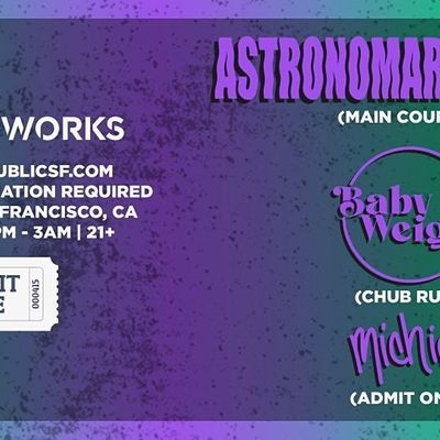 Admit One presents Astronomar & Bot in the Public Works Loft