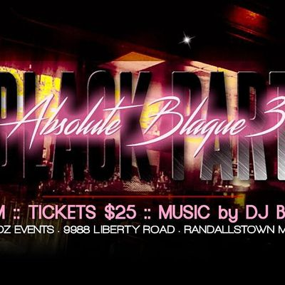 The Black Party - Absolute Blaque 3